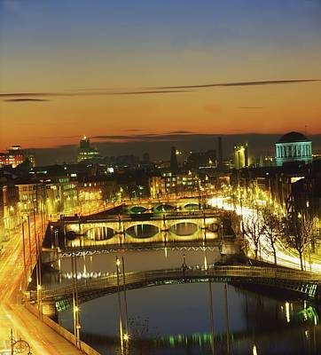 Dublin,co Dublin,irelandview Of The Art Print by The Irish Image Collection
