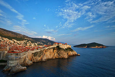 Photograph - Dubrovnik And Lokrum Island by Stuart Litoff
