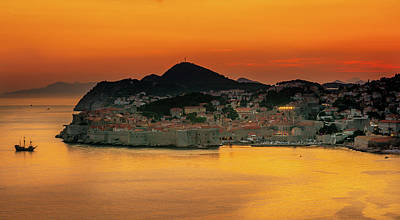 Photograph - Dubrovnik by Andrew Matwijec