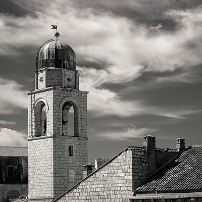 Photograph - Dubrovnik Bell Tower by Dave Bowman