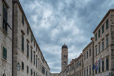 Photograph - Stradun, Dubrovnik by Christopher Rees