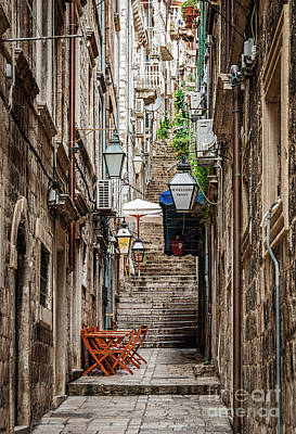 Photograph - Dubrovnik, Croatia by Helen Woodford