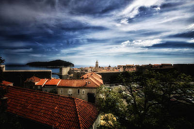 Photograph - Dubrovnik Croatia - Rooftop View by Russell Mancuso