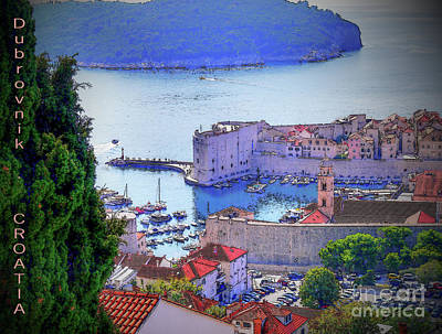 Photograph - Dubrovnik by Lance Sheridan-Peel