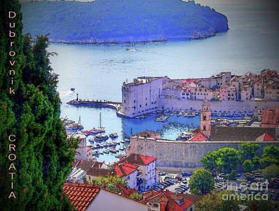Photograph - Dubrovnik by Lance Sheridan-Peel