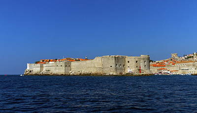 Photograph - Dubrovnik Old City On The Adriatic Sea, South Dalmatia Region, Croatia by Elenarts - Elena Duvernay photo