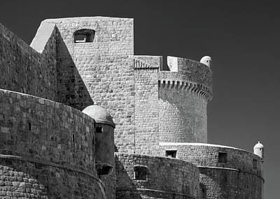 Photograph - Dubrovnik Old Town Walls by Dave Bowman