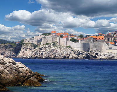 Dubrovnik On The Adriatic Art Print by Don Wolf