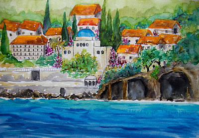 Painting - Dubrovnik by Patricia Beebe