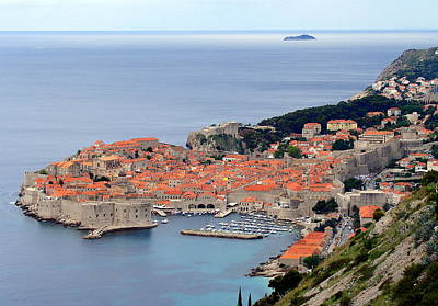 Photograph - Dubrovnik by Ramona Johnston