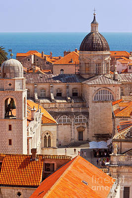 Photograph - Dubrovnik Rooftops by Brian Jannsen
