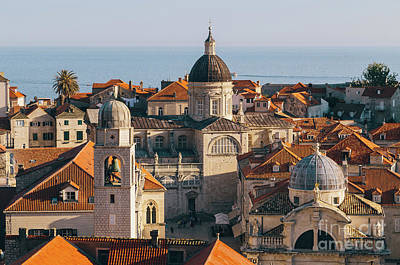 Photograph - Dubrovnik Rooftops by JR Photography