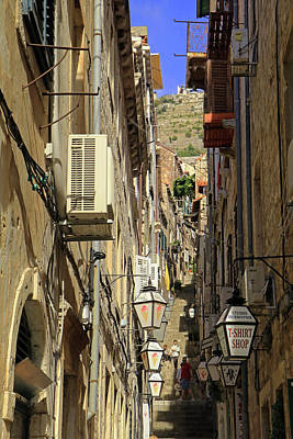 Photograph - Dubrovnik Side Street  by Tony Murtagh