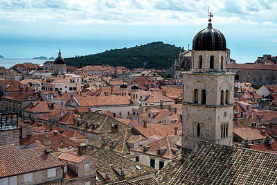 Photograph - Dubrovnik Skyline by Christopher Rees