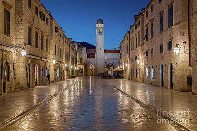 Photograph - Dubrovnik Twilight Magic by JR Photography