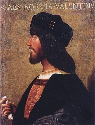Painting - Duca Valentino by Bartolomeo Veneto