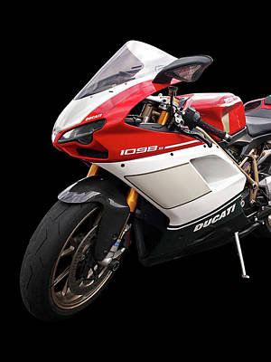 Photograph - Ducati 1098s Motorcycle by Gill Billington