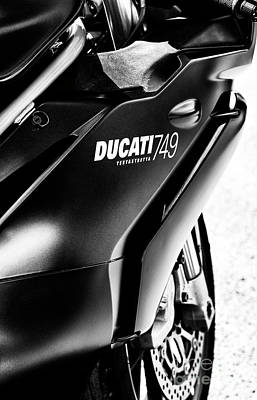 Photograph - Ducati 749 by Tim Gainey
