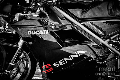 Photograph - Ducati 916 Senna by Tim Gainey