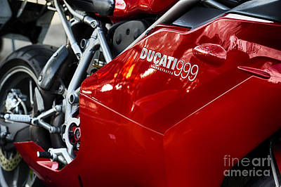 Photograph - Ducati 999 Testastretta by Tim Gainey
