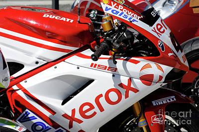 Dennis Miller Wall Art - Photograph - Ducati by Dennis Hammer