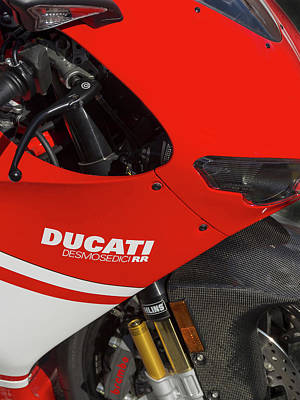Monster Photograph - Ducati Desmosedici by Mark Rogan