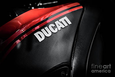 Photograph - Ducati Diavel Carbon by Tim Gainey