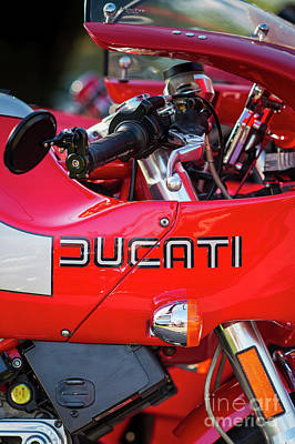 Photograph - Ducati Mh900 Evoluzione Portrait by Tim Gainey