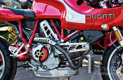 Photograph - Ducati Mh900 Evoluzione by Tim Gainey
