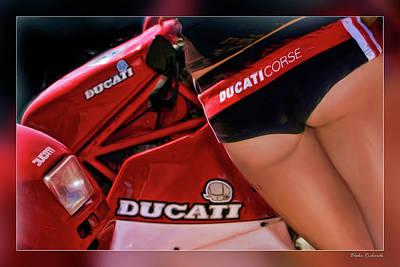 Ducati Model Art Print