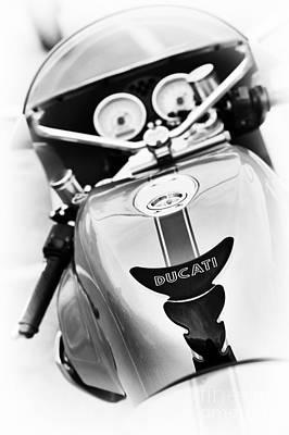 Ducati Ps1000le Abstract Art Print
