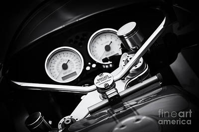 Photograph - Ducati Ps1000le Detail by Tim Gainey
