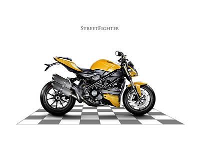 Ducati Streetfighter Art Print