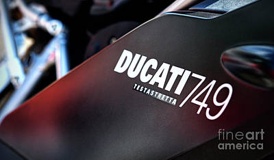 Photograph - Ducati Testastretta by Tim Gainey