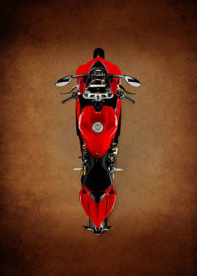 Monster Photograph - Ducati The Art Of The Motorcycle by Mark Rogan