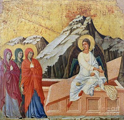 Duccio - Three Marys Art Print by Granger