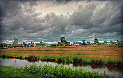 Photograph - Dutch Panorama by Hanny Heim
