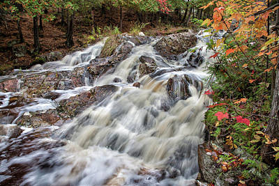 Photograph - Duchesnay Falls by Brian Boudreau