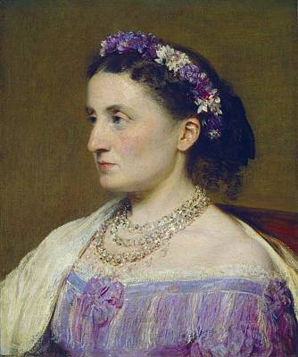 Fitz Painting - Duchess De Fitz-james by Henri Fantin-latour
