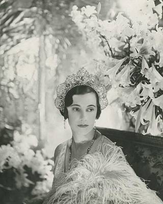 Photograph - Duchess Of Westminster by Cecil Beaton