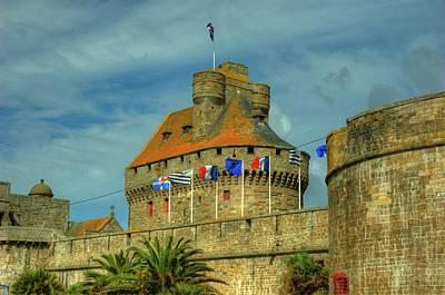 Photograph - Duchesse Anne's Castle by Elf Evans