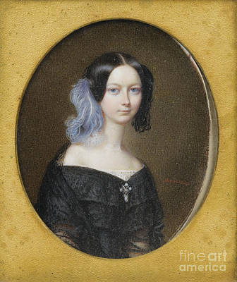 Painting - Duchesse Helene De Mecklenburg-schwerin by Celestial Images