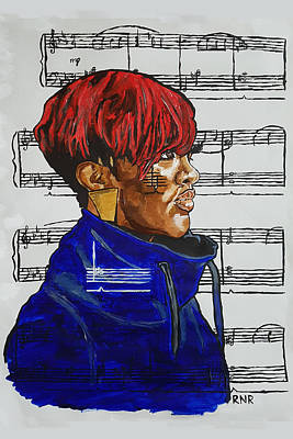 Painting - Rapsody In Solitude by Rachel Natalie Rawlins