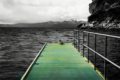 Digital Art - Duck, Duck, Dock by Richard Ricci