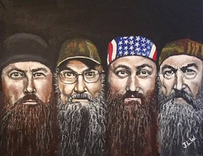 Painting - Duck Dynasty by Justin Lee Williams