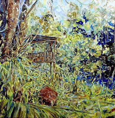 Painting - Duck House Echos by Caroline Krieger Comings