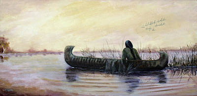 Painting - Duck Hunter by Catherine Link