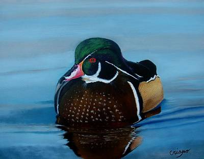 Painting - Duck by Jean Yves Crispo