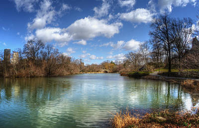 Spring Nyc Photograph - Duck Pond On A Beautiful Day by Vicki Jauron