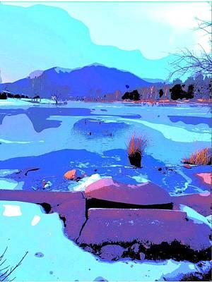 Duck Pond Stroll Art Print by FlyingFish Foto